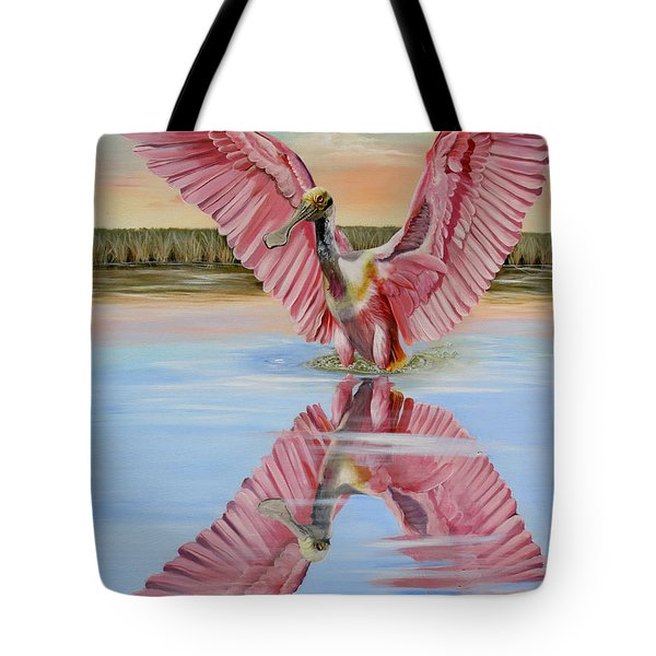 Rockport Roseate Spoonbill Tote Bag