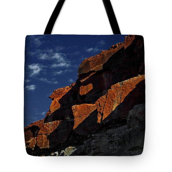 Sky And Rocks Tote Bag