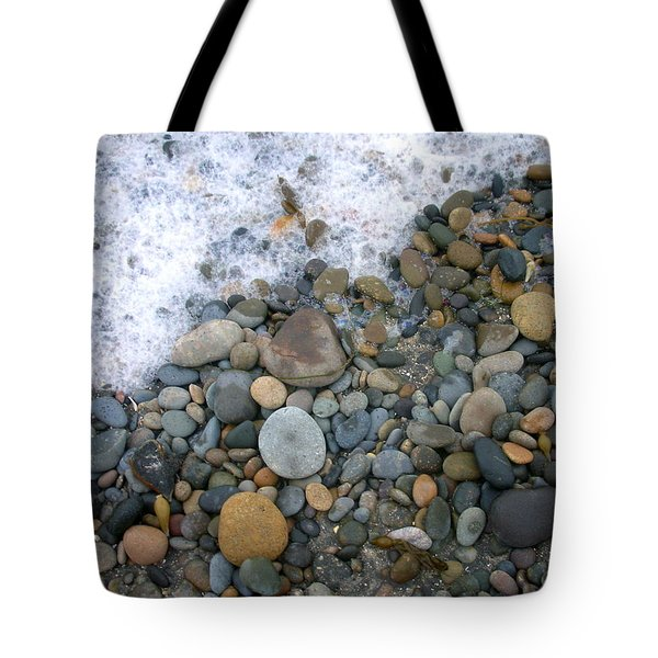 Rocks And Pebbles Tote Bag