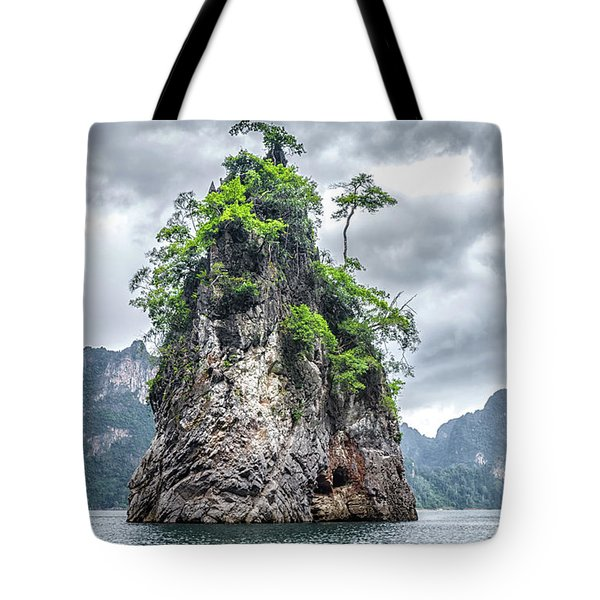 Rocks At Khao Sok Tote Bag