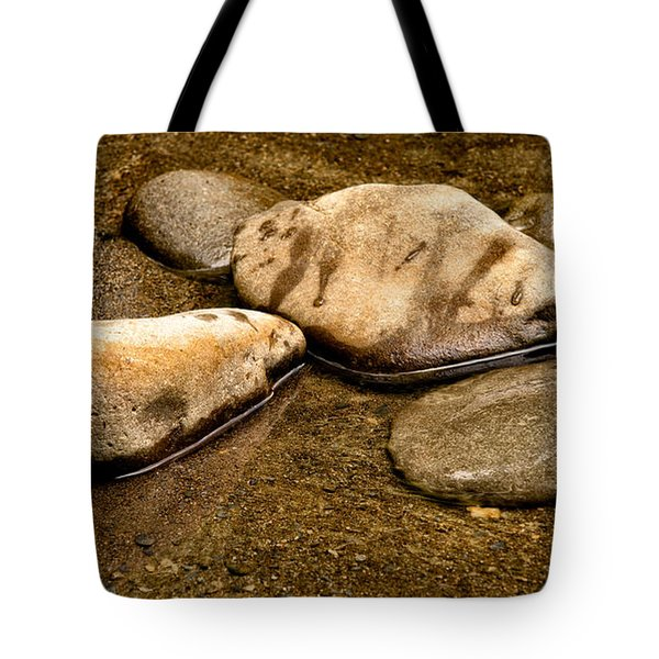 Rocks At Rest Tote Bag by Christopher Holmes