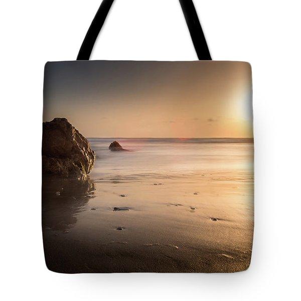 Rocks At Sunset 3 Tote Bag