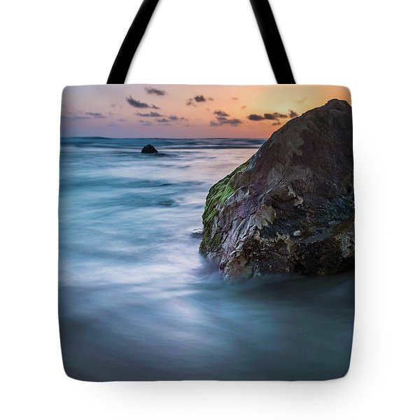 Rocks At Sunset 4 Tote Bag