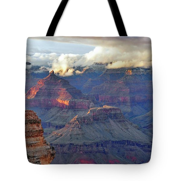Rocks Fall Into Place Tote Bag