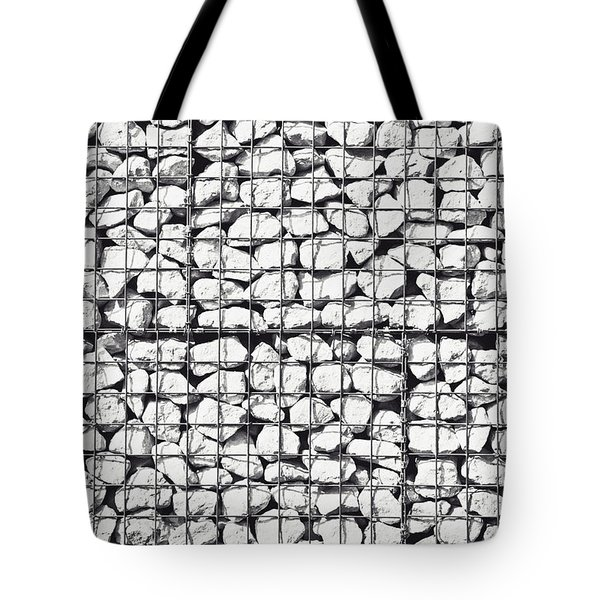 Rocks In A Cage Tote Bag