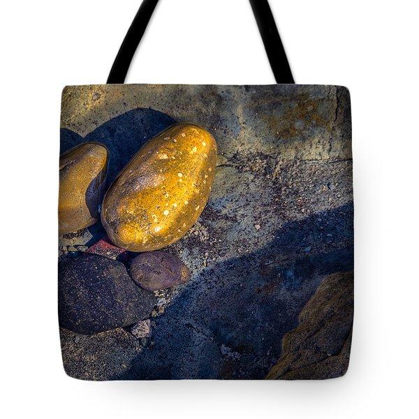 Rocks In Tidepool Tote Bag
