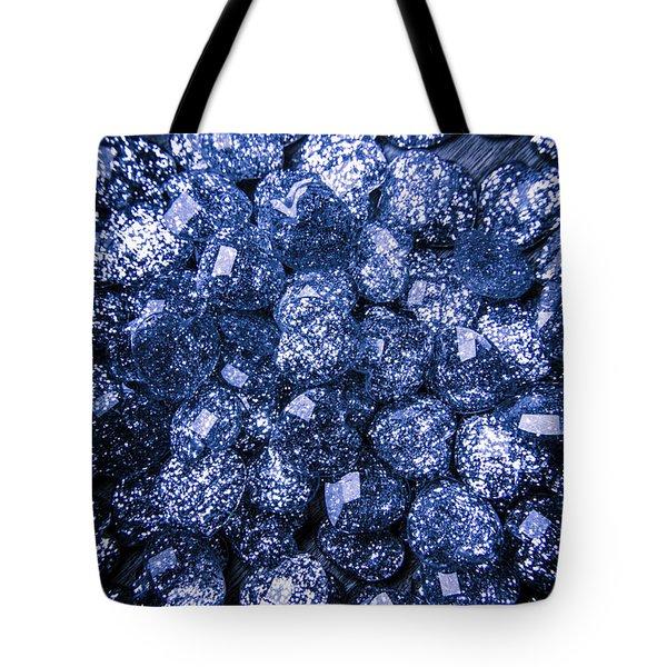 Rocks Of Blue Romance Tote Bag
