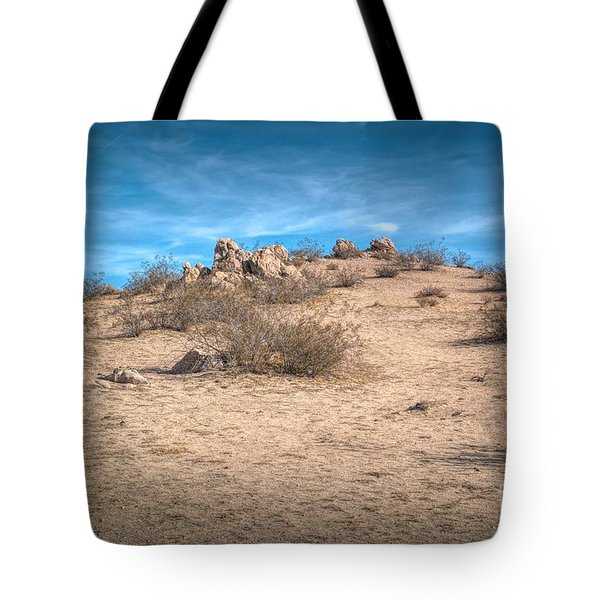 Rocks On The Hill Tote Bag