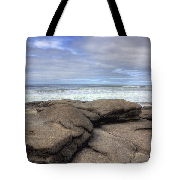 Rocks On The Oregon Coast Tote Bag