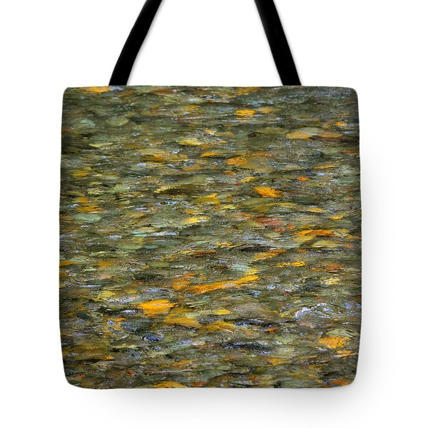 Rocks Under Water Tote Bag