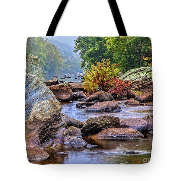 Rockscape Tote Bag by Tom Cameron