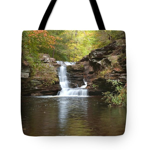 Tote Bag featuring the photograph Rocktober by Gene Walls