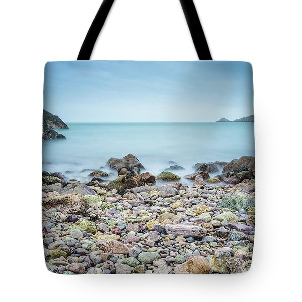 Tote Bag featuring the photograph Rocky Beach by James Billings