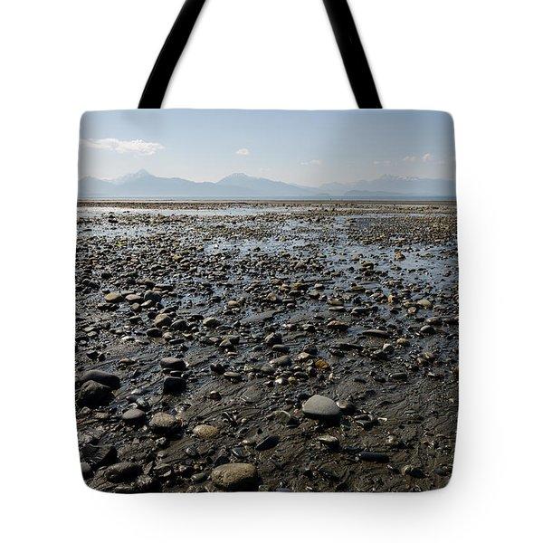 Rocky Beaches Of Alaska Tote Bag