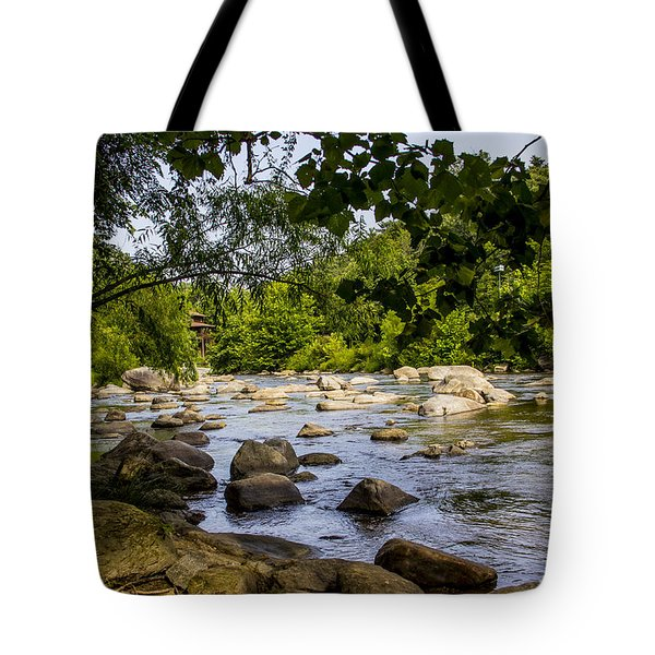 Rocky Broad River Tote Bag
