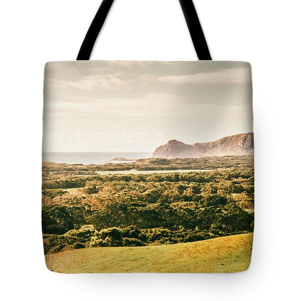 Rocky Capes And Rugged Coasts Tote Bag