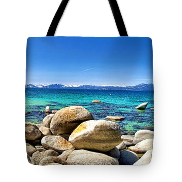 Tote Bag featuring the photograph Rocky Cove Sand Harbor by Jason Abando