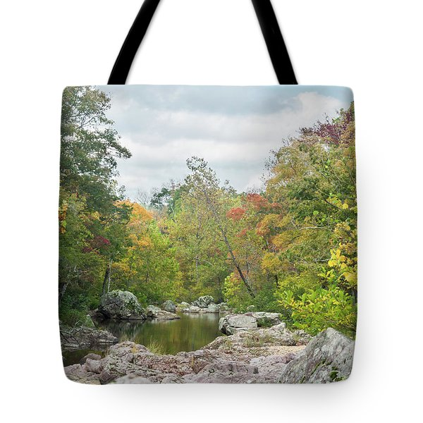 Rocky Creek Shut-ins Tote Bag