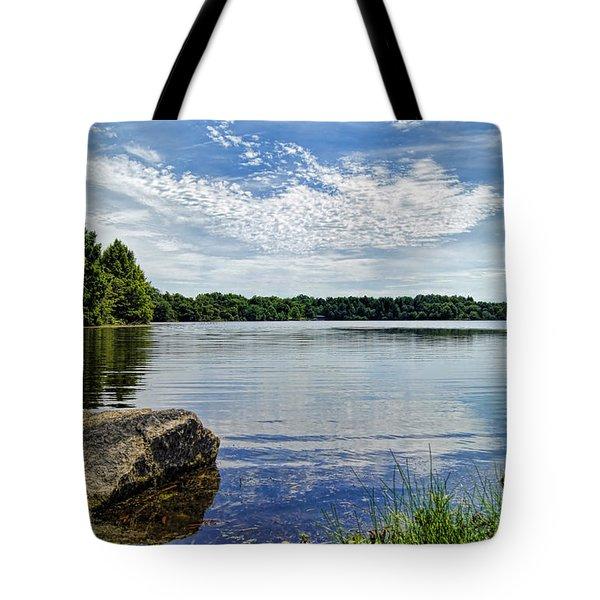Rocky Fork Lake Tote Bag