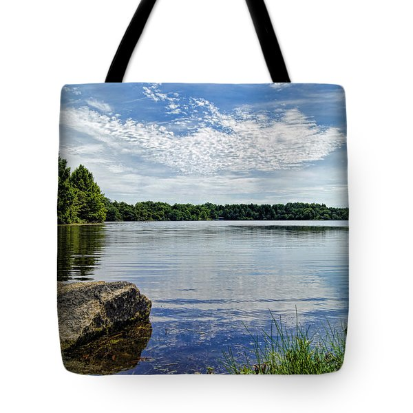 Rocky Fork Lake Tote Bag
