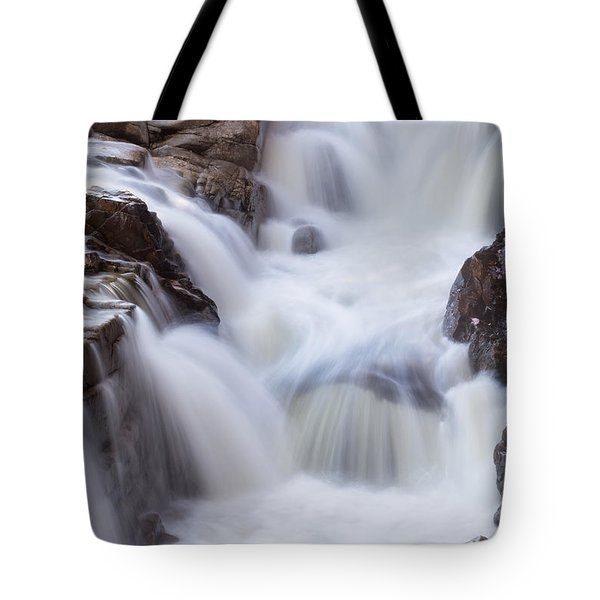 Tote Bag featuring the photograph Rocky Gorge Falls by Michael Hubley