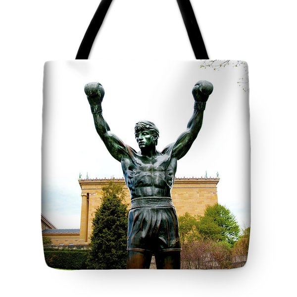 Rocky I Tote Bag by Greg Fortier