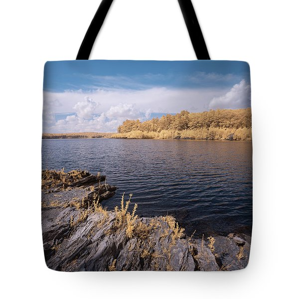 Tote Bag featuring the photograph Rocky Ir by Brian Hale