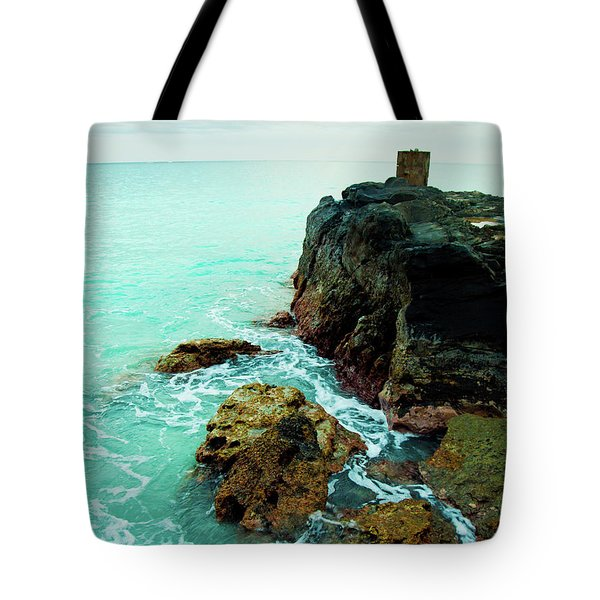 Rocky Landing Tote Bag