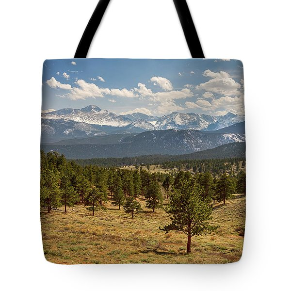 Tote Bag featuring the photograph Rocky Mountain Afternoon High by James BO Insogna