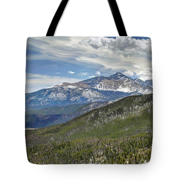 Tote Bag featuring the photograph Rocky Mountain Cloudscape by Martin Konopacki