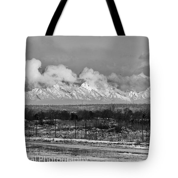 Rocky Mountain Dawn Tote Bag