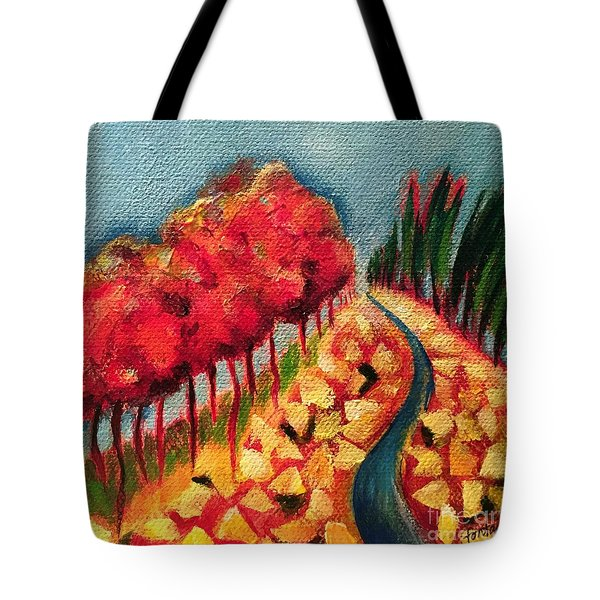 Rocky Mountain Tote Bag by Elizabeth Fontaine-Barr