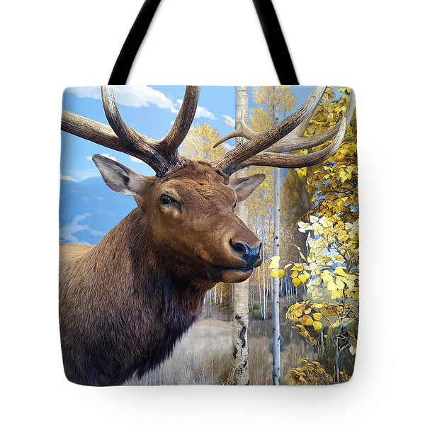 Tote Bag featuring the photograph Rocky Mountain Elk by Karon Melillo DeVega