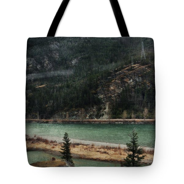 Rocky Mountain Foothills Montana Tote Bag by Kyle Hanson