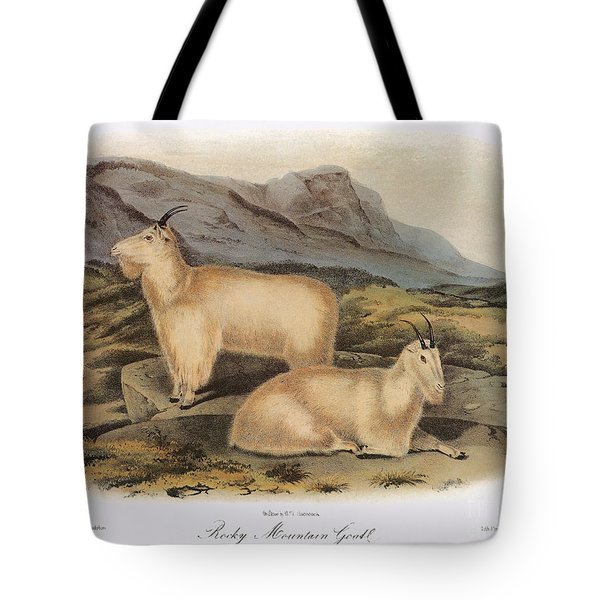 Rocky Mountain Goats Tote Bag