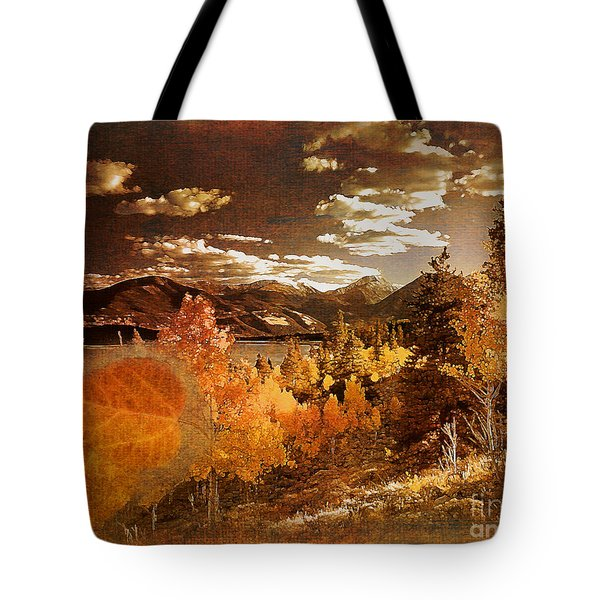 Rocky Mountain Gold 2015 Tote Bag