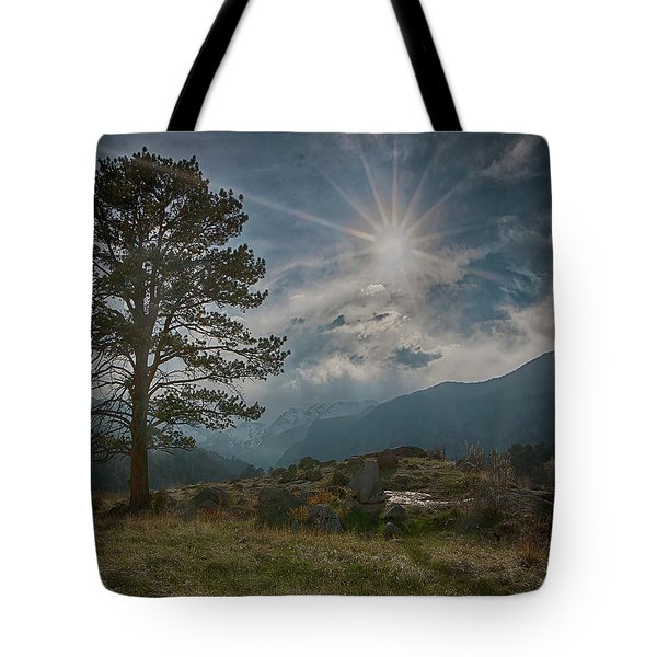 Tote Bag featuring the photograph Rocky Mountain High by Teresa Wilson