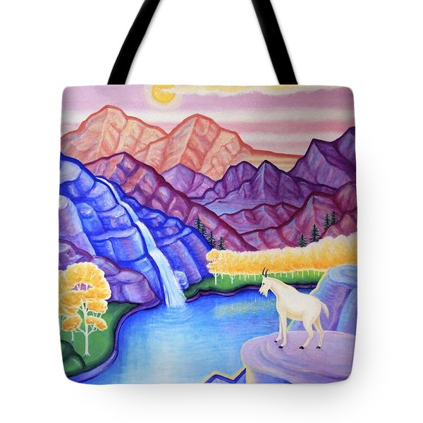 Rocky Mountain High Tote Bag by Tracy Dennison