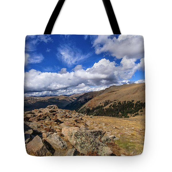 Rocky Mountain National Park Colorado Tote Bag