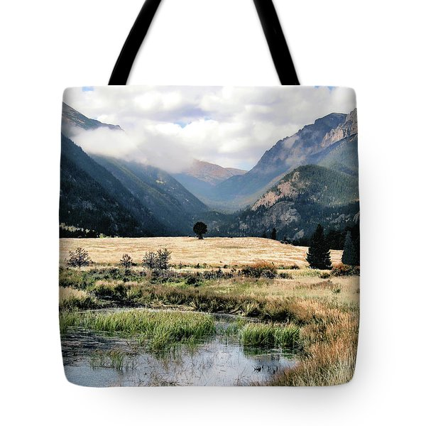 Rocky Mountain National Park Tote Bag