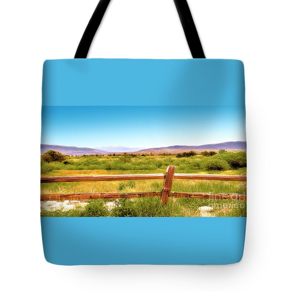 Rocky Mountain Ranch Tote Bag