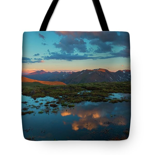 Rocky Mountain Reflections Tote Bag