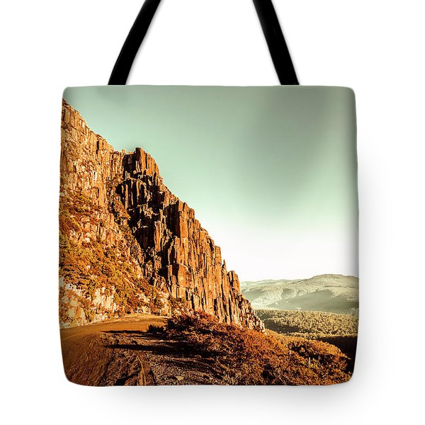 Rocky Mountain Route Tote Bag