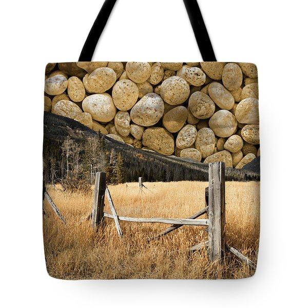 Rocky Mountain Sky Tote Bag by John Stephens
