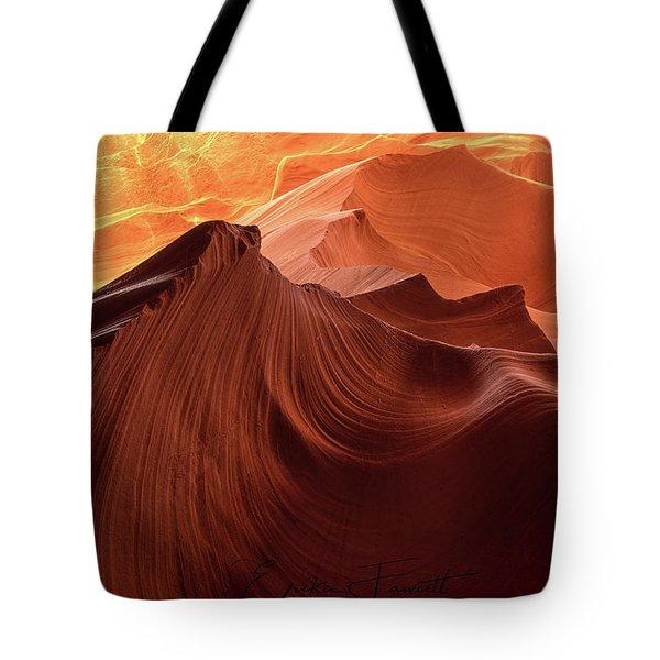 Rocky Mountain Sunrise Tote Bag