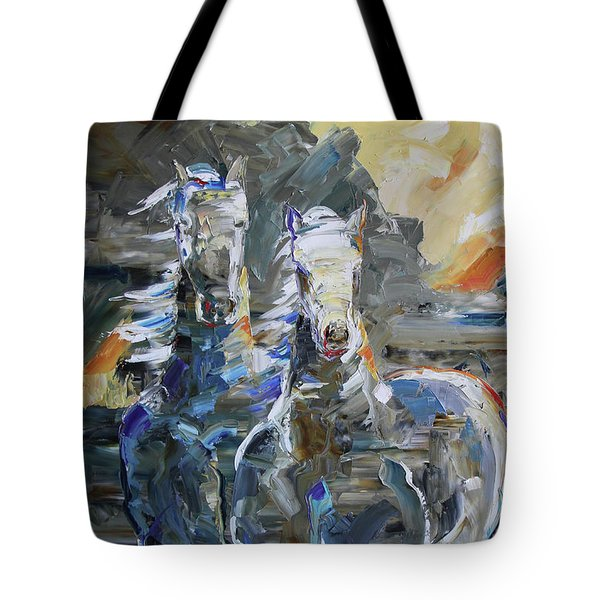 Rocky Mountain Sunrise Tote Bag