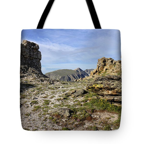 Rocky Mountain Tundra Tote Bag
