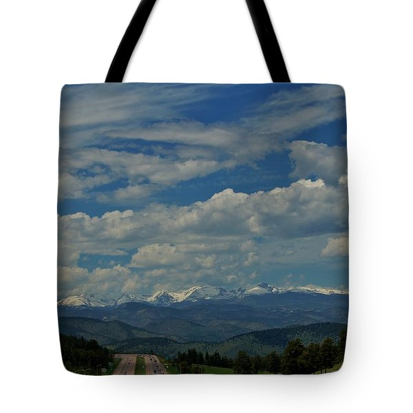 Colorado Rocky Mountain High Tote Bag