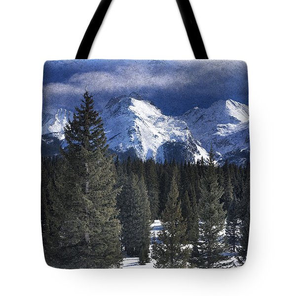 Rocky Mountains, Colorado Tote Bag by George Robinson