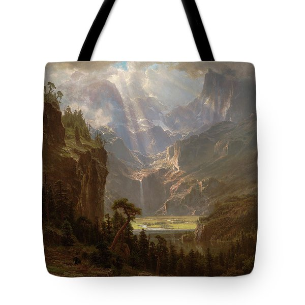 Rocky Mountains, Lander's Peak Tote Bag